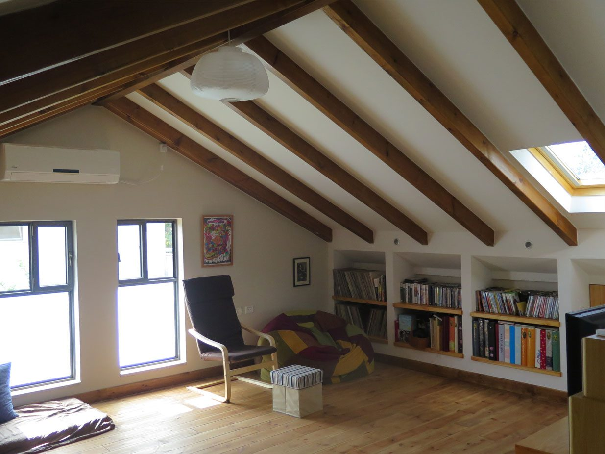 Attic Renovation in Pardes-Hanna