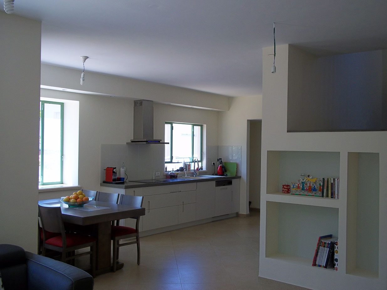 House Upgrade in Zichron Yaakov